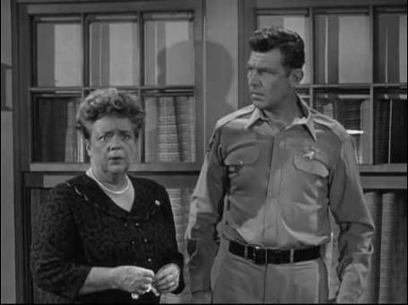 Frances Bavier - Aunt Bee & Sheriff  Andy Taylor