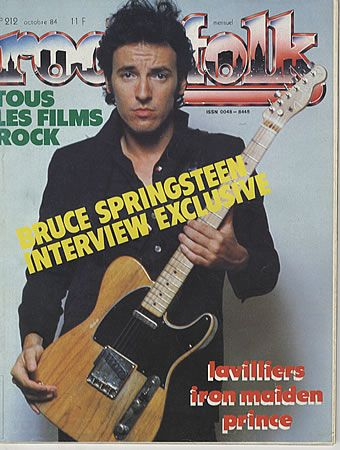Bruce Springsteen - Rock & Folk Magazine [France] (October 1984)