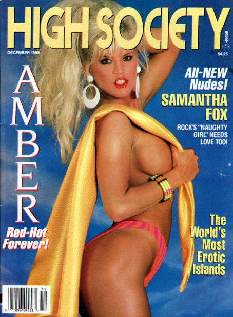 Amber Lynn - High Society Magazine [United States] (December 1988)