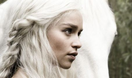 Emilia Clarke  as Daenerys Targaryen on Game of Thrones (2011)
