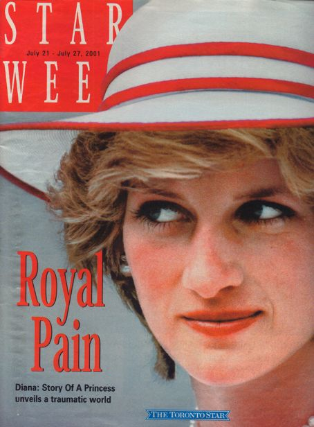 Princess Diana - Starweek Magazine [Canada] (21 June 2001)