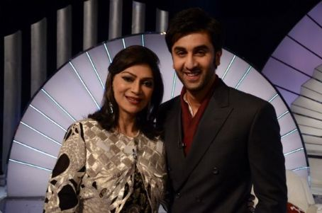 Simi Garewal Ranbir Kapoor dans l'emission télé India's Most Desirable