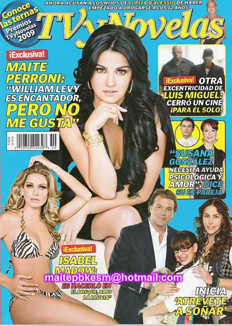 Maite Perroni - TV Y Novelas Magazine [Mexico] (March 2009)