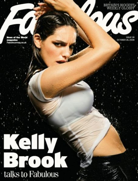 Kelly Brook - Fabulous Magazine [United Kingdom] (26 October 2008)