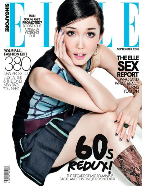 Elle Magazine Cover [Singapore] (September 2011)