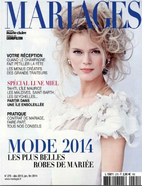 Mariages Magazine Cover [France] (March 2014)