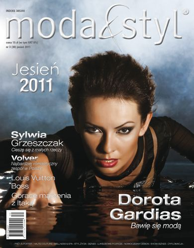 Dorota Gardias - Moda&Styl Magazine Cover [Poland] (September 2011)