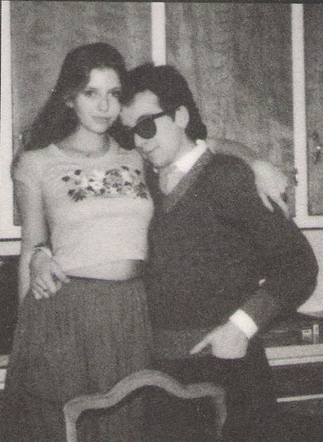 Bebe Buell and Elvis Costello