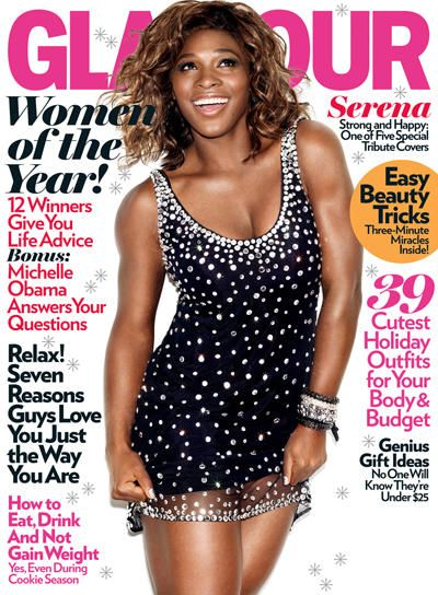 Serena Williams - Glamour Magazine [United States] (December 2009)