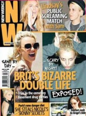 Britney Spears - New Weekly Magazine Cover [Australia] (9 June 2008)