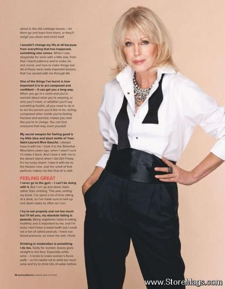Joanna Lumley - Woman & Home Magazine Pictorial [United Kingdom] (November 2011)