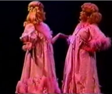Linda Hart Linda with Laura Bell Bundy in 'Hairspray