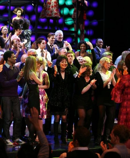 Linda Hart  at Hairspray's Final Performance