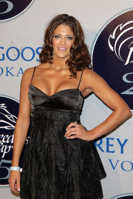 Eve Torres - 2008 Breeders' Cup Winners Circle, 23 October 2008