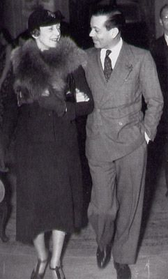Porter with wife Linda Lee Thomas