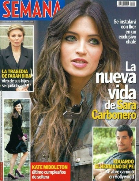 Sara Carbonero - Semana Magazine Cover [Spain] (19 January 2011)