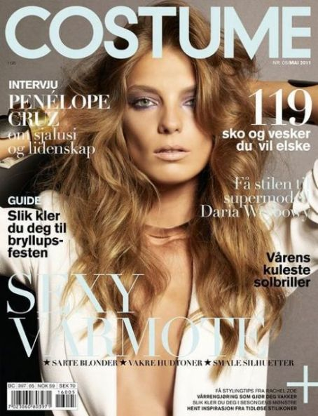 Daria Werbowy - Costume Magazine Cover [Norway] (May 2011)