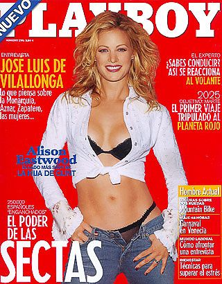 Alison Eastwood - Playboy Magazine Cover [Spain] (February 2003)