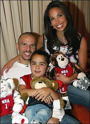 Jason Kidd  and Joumana Samaha