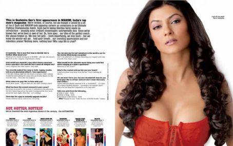 Sushmita Sen  Maxim India November 2009