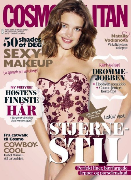 Natalia Vodianova - Cosmopolitan Magazine Cover [Norway] (October 2012)