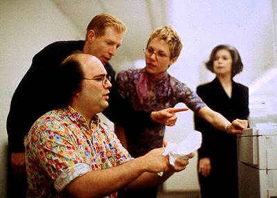 Josh Kornbluth, Brian Thorstenson, Amy Resnick and Helen Shumaker in Sony Pictures Classics' Haiku Tunnel - 2001