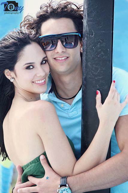 Alexandra Pomales  and Mauro Menendez