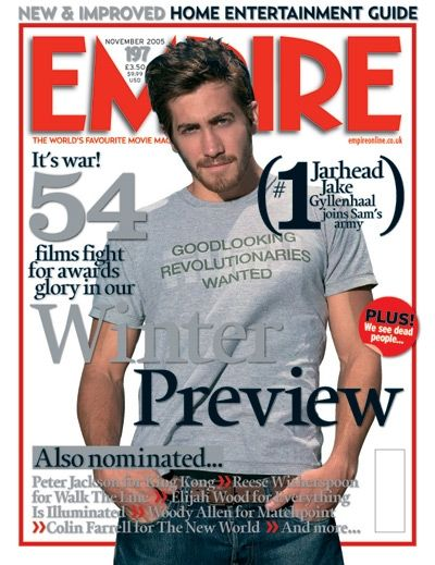 Jake Gyllenhaal - Empire Magazine Cover [United Kingdom] (October 2005)