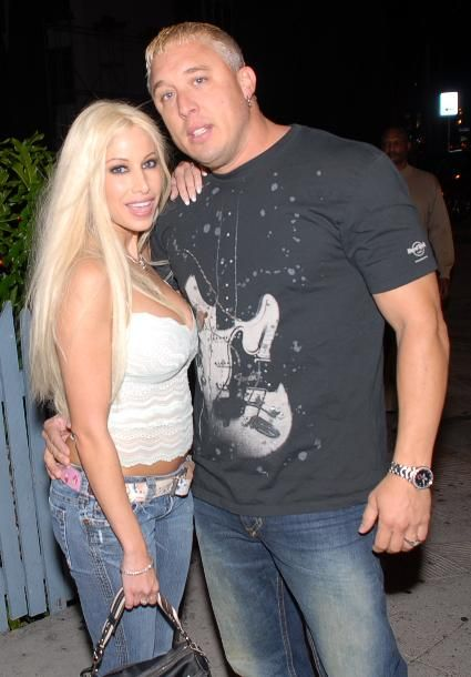 Gina Lynn  and Travis Knight