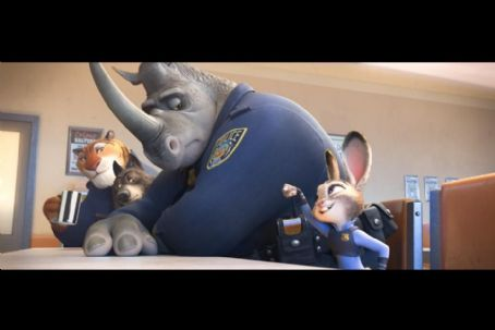 Mark Rhino Smith Zootopia (2016)
