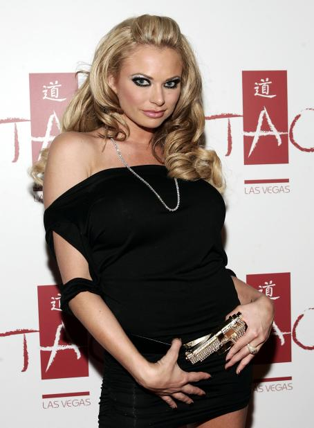 Briana Banks  - Night of Debauchery at TAO Las Vegas hosted by Vivid contract girl  and Hustler, 11.01.2008.