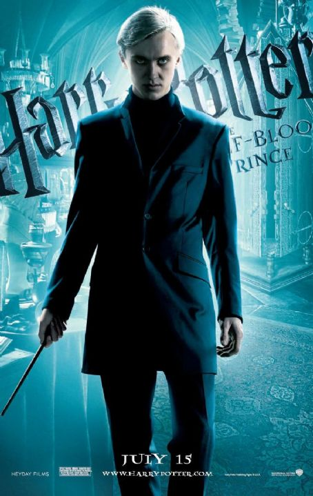 Draco Malfoy Harry Potter and the Half-Blood Prince Teaser Poster