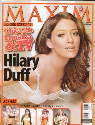 Hilary Duff - Maxim Magazine [Mexico] (August 2007)