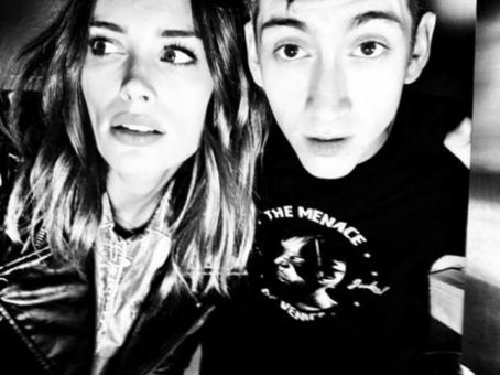 Alex Turner and Arielle Vandenberg