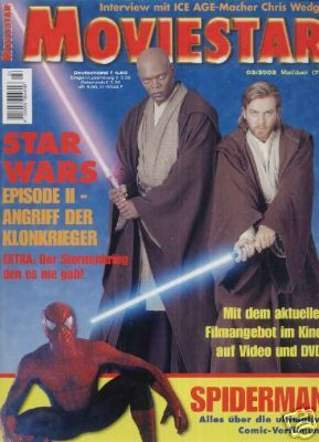 Ewan McGregor - Movie Star Magazine [Germany] (May 2002)