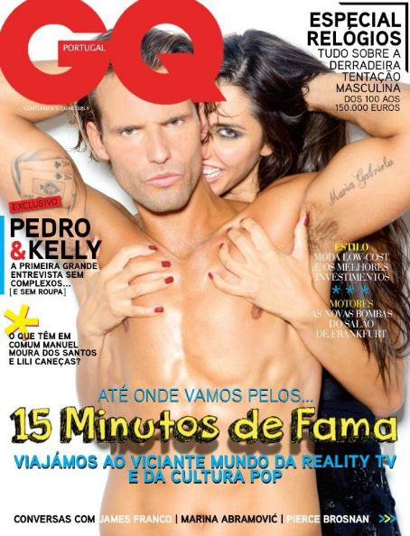 Kelly Baron, Pedro Guedes - GQ Magazine Cover [Portugal] (October 2013)