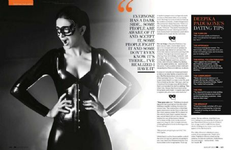 Deepika Padukone GQ India August 2012