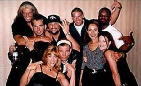 Jeff Hardy - The Hardys, Lita, Lilian Garcia, Edge, Christian, Bubba Ray Duddly and D-Von Duddly