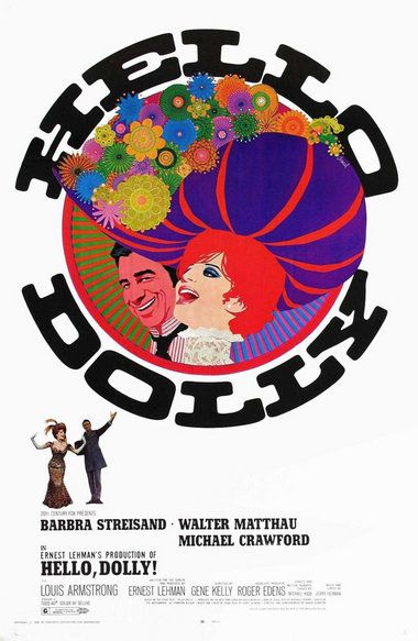 Hello,Dolly!  1969 Movie Poster